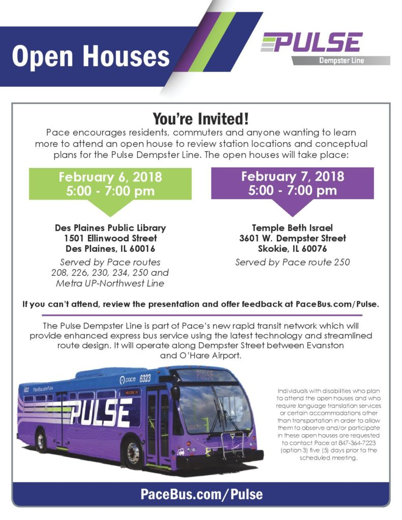 pulse dempster line open house - get down to business with shalom klein